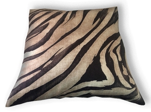 brown tiger cushion cover