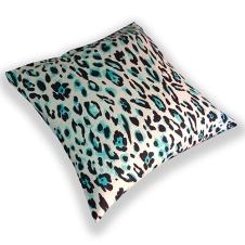 turquoise tiger cushion
