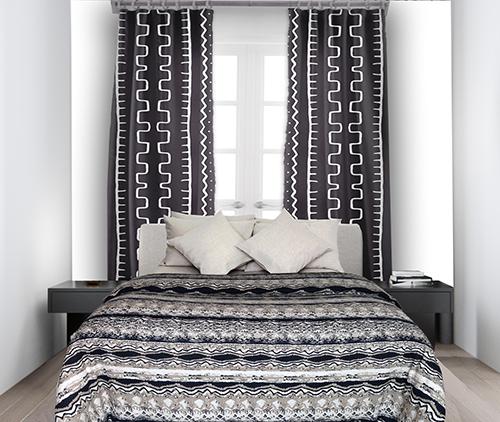 Aztec bed linen set