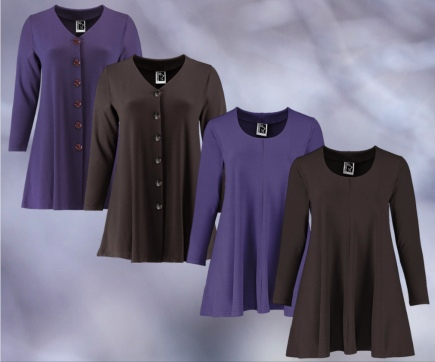 TUNICS AND SHIRT NEW COLOURS