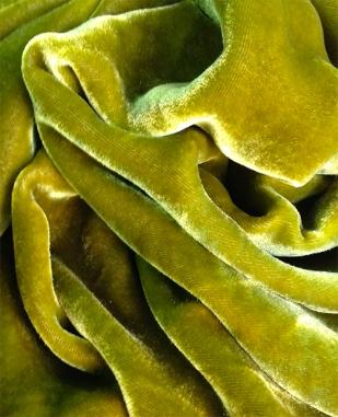 bronze silk velvet