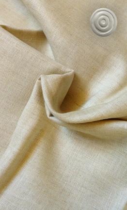 ecru natural linen with button final