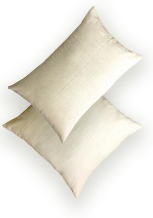 final ecru pillows